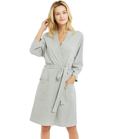 U2SKIIN Lightweight Cotton Robe