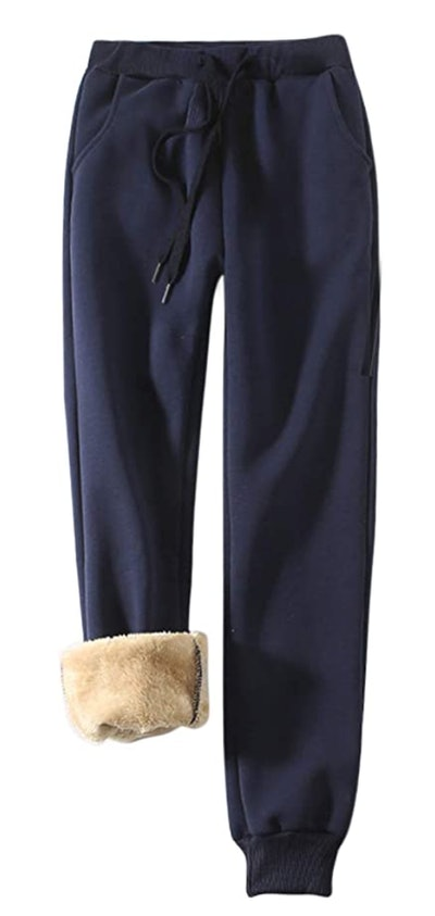 Yeokou Sherpa Lined Sweatpants