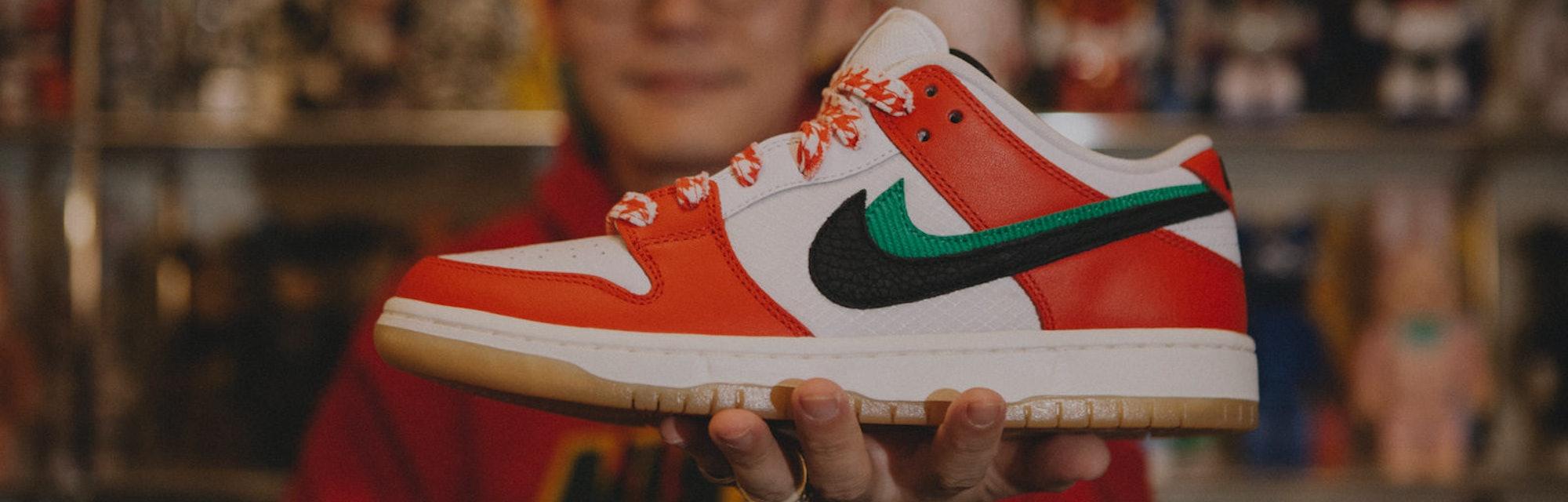 Frame Nike SB Dunk Low Habibi