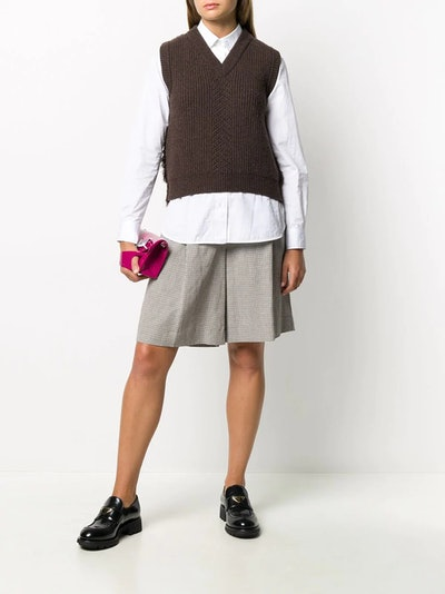 Wool Mix Sweater Vest