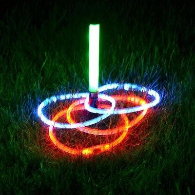 Light Up LED Ring Toss Game