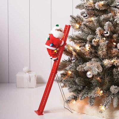 Small Climbing Santa