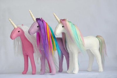 DelilahIris - Rainbow Stuffed Unicorn DIY Craft Kit
