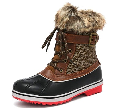 DREAM PAIRS Mid Calf Snow Boots