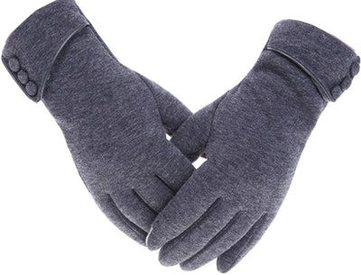 Tomily Touch-Screen Fleece Gloves