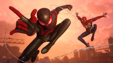 spider-man miles morales and peter
