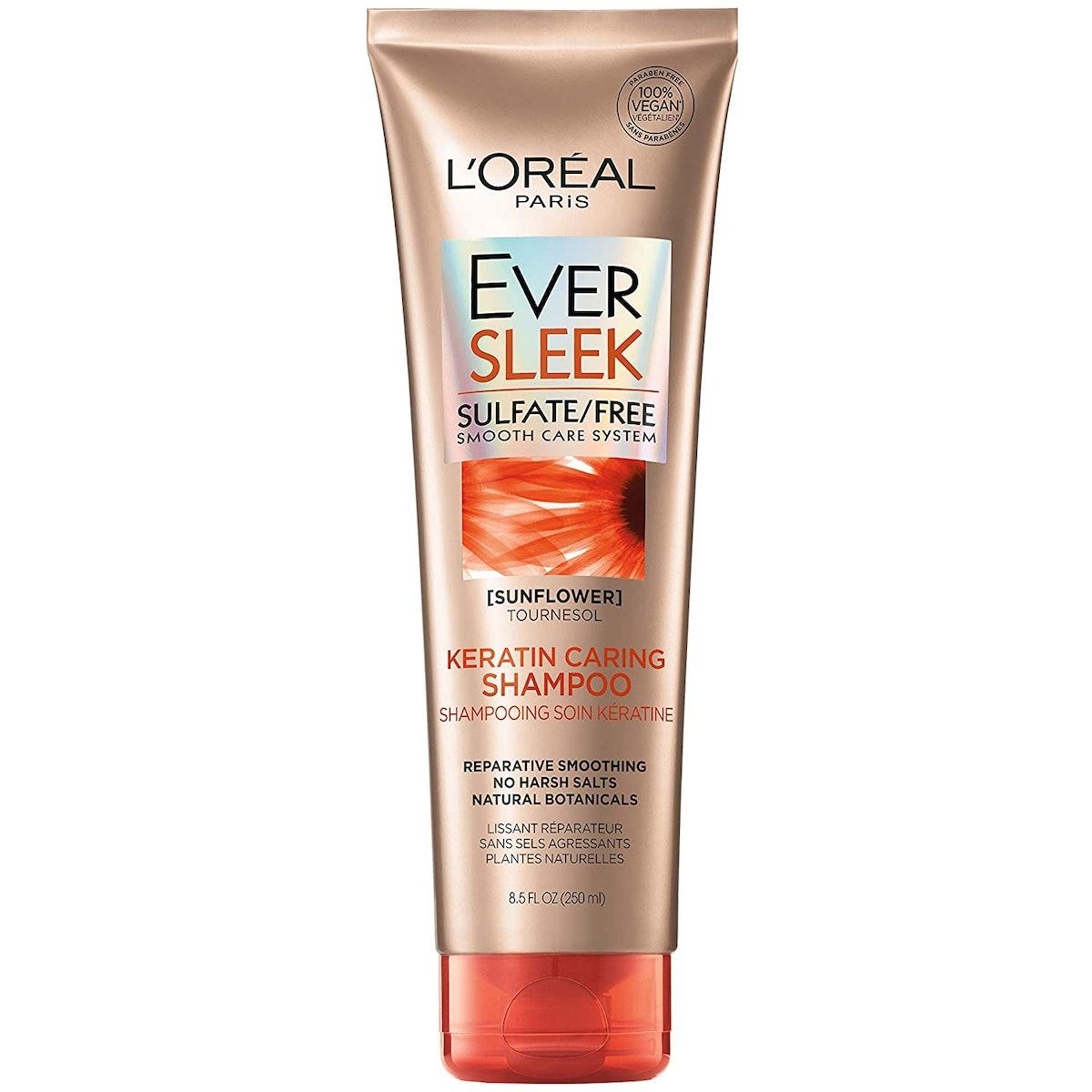L'Oreal Paris EverSleek Keratin Caring Shampoo