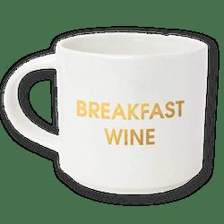 Breakfast Wine Jumbo Stackable Mug