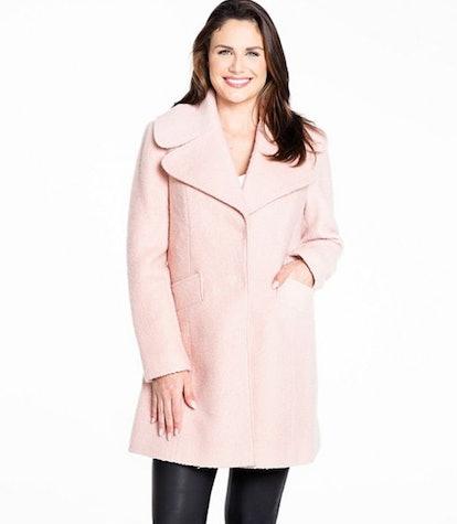 Women's Fleet Street Princess Seam Boucle Coat