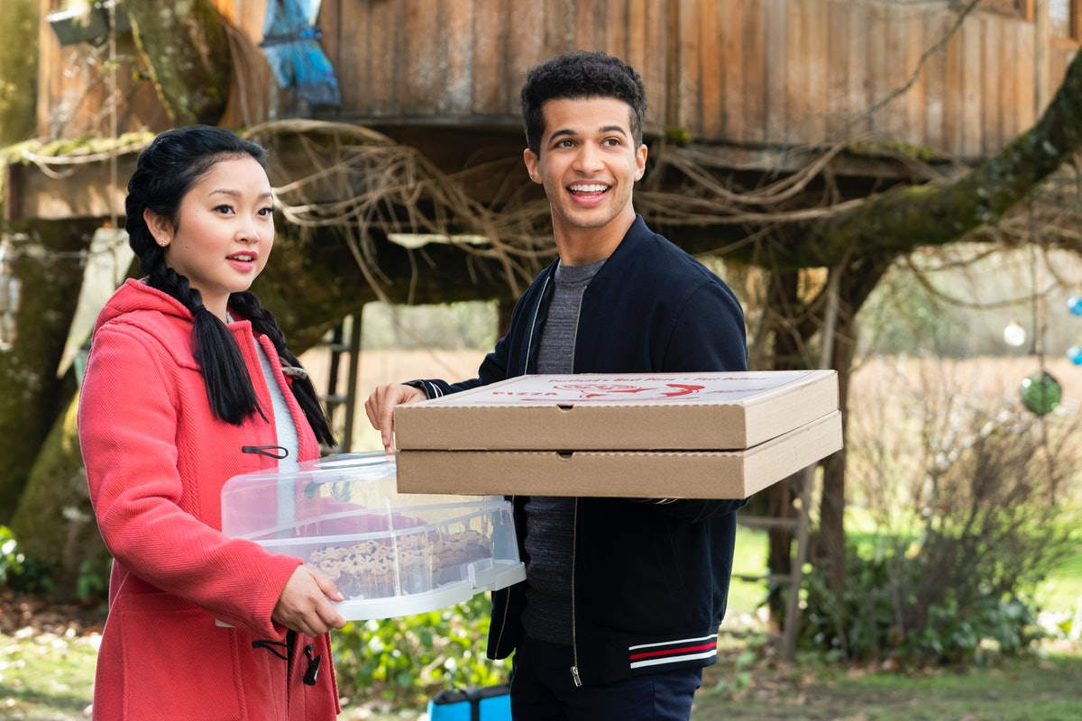 Jordan Fisher and Lana Condor in 'To All The Boys'