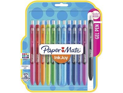 Paper Mate Gel Pens (12-Pack)