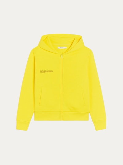 Recycled Cotton Zip Hoodie