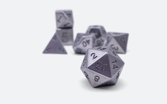 16mm Norse Foundry Tungsten Dice Set
