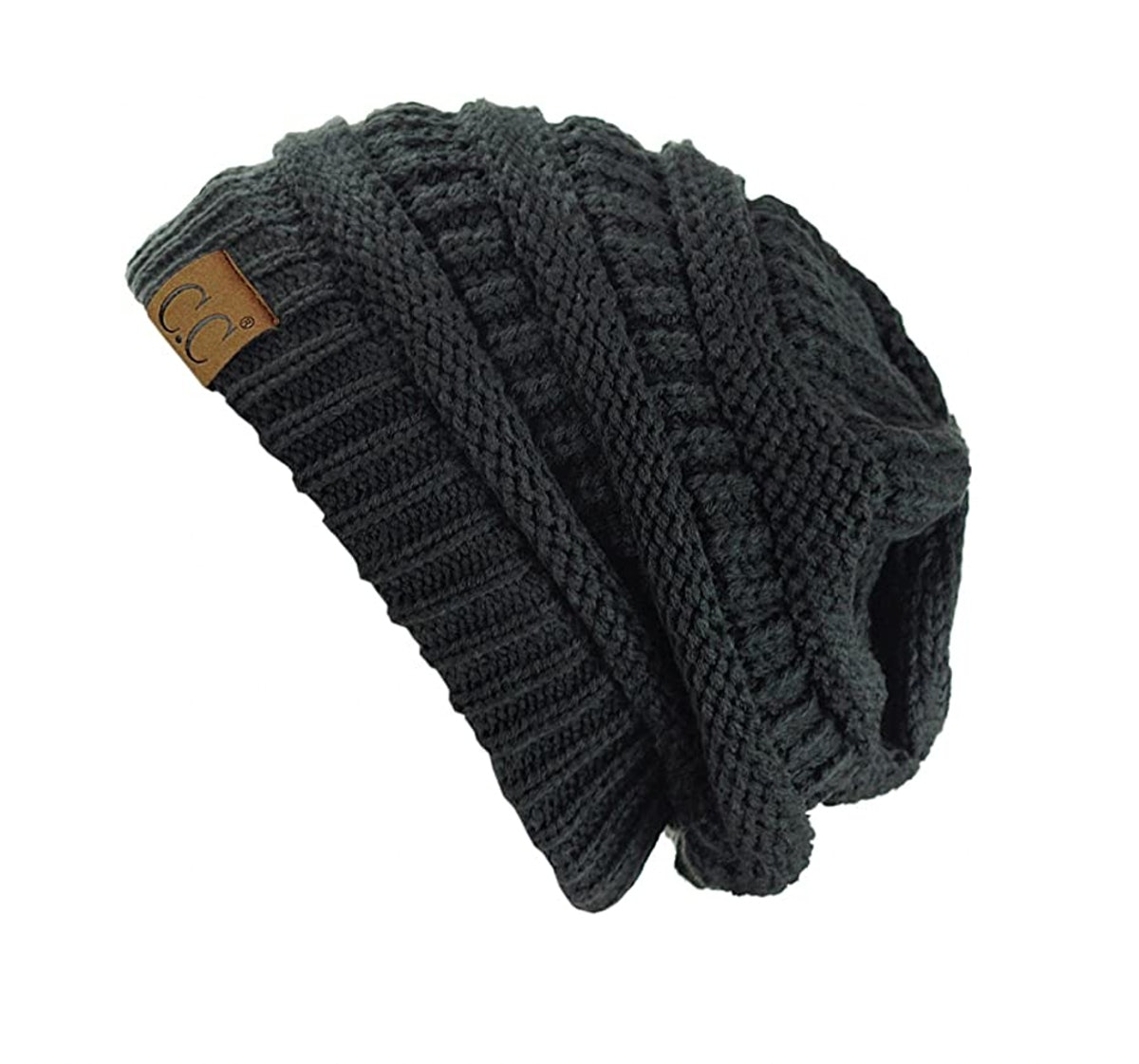 C.C. Trend Cable-Knit Beanie