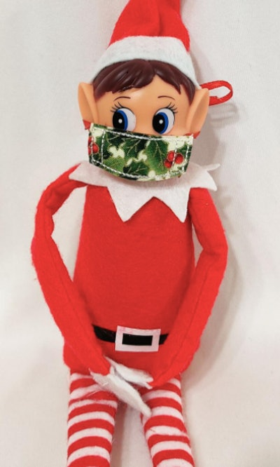 GingerBeasties Elf or Doll Face Mask
