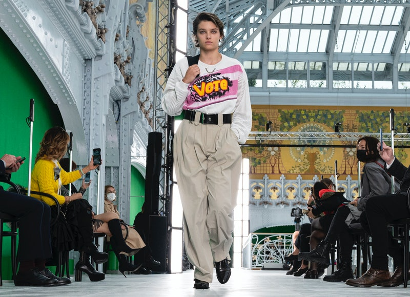 Louis Vuitton Runway Vote Shirt
