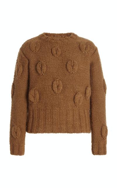 Mira Sweater Wool Coffee Brown