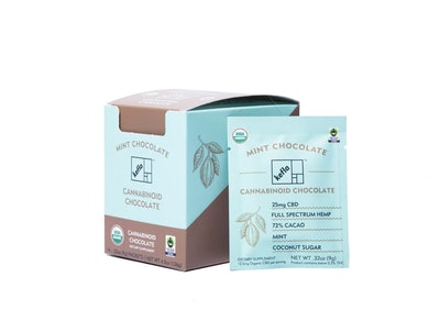 Kefla Organics CBD Mint Chocolate Bars (14-pack)