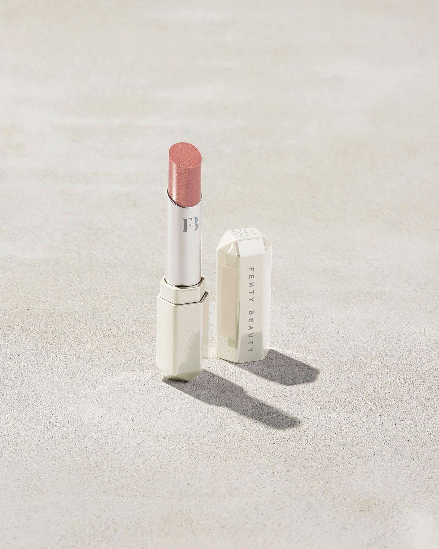 Slip Shine Sheer Shiny Lipstick in Makeout Break