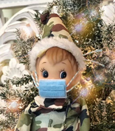 Mask Prop for Christmas Elf