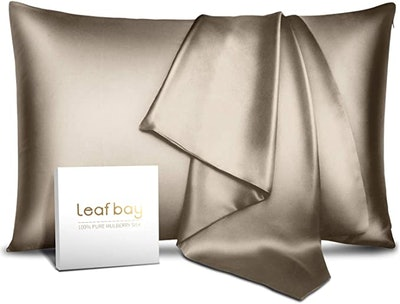 Leafbay 100% Pure Mulberry Silk Pillowcase