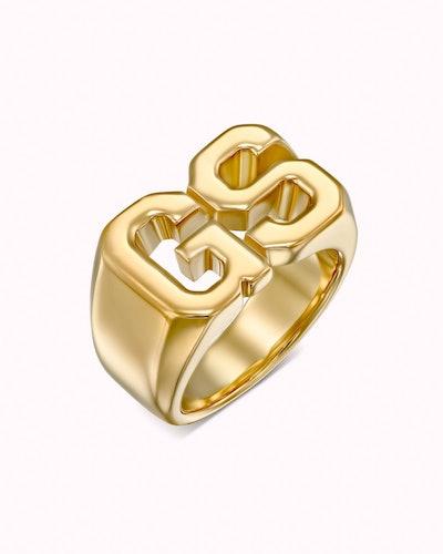 Initials Ring