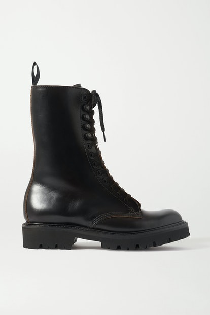 13 Eye Chromexcel Leather Ankle Boots