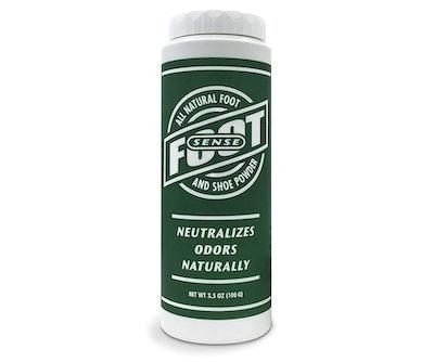 Foot Sense Natural Foot & Shoe Powder, 3.5 Oz.