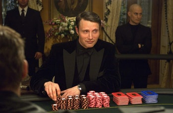 Cold, calculating, and in over his head: Le Chiffre is a classic Bond villian