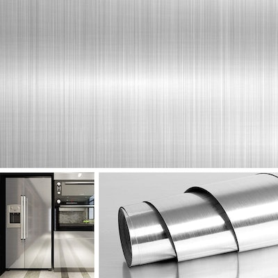 Livelynine Decorative Stainless Steel Contact Paper