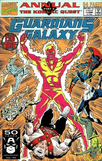 korvac guardians of the galaxy avengers marvel