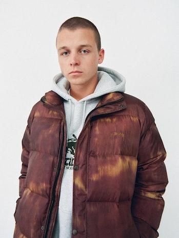 Stüssy Bleached Puffer Coat