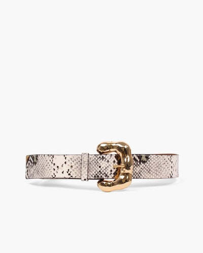 Boule Belt Leather Snake Multi