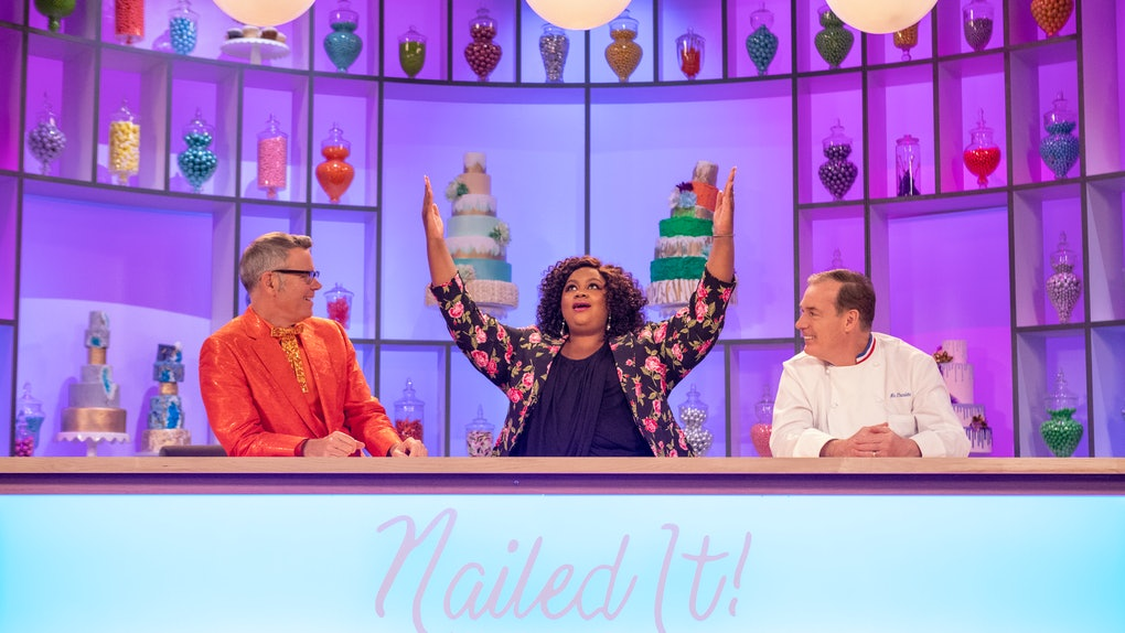 'Nailed It' is a competition show on Netflix
