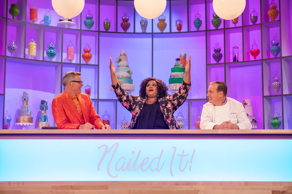 'Nailed It' is a soothing competition show streaming on Netflix