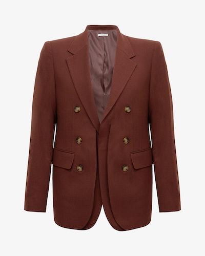 Darcy Jacket Wool Blend Brown