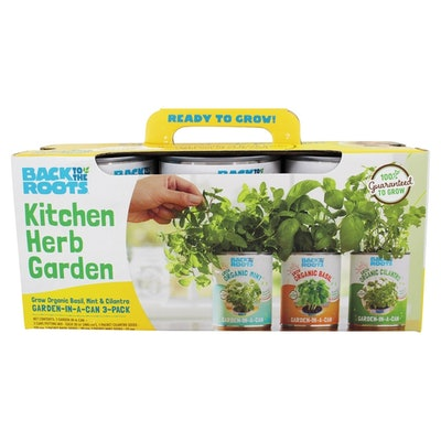 Back to the Roots Kitchen Herb Garden In A Can