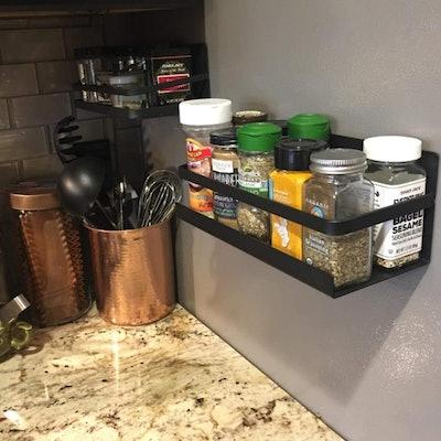 Roysili Magnetic Refrigerator Spice Rack