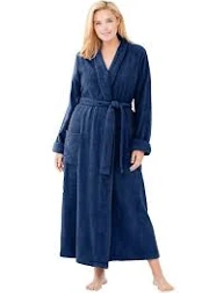 Dreams & Co Long Terry Robe