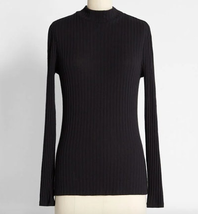 You Got This Mock Neck Top