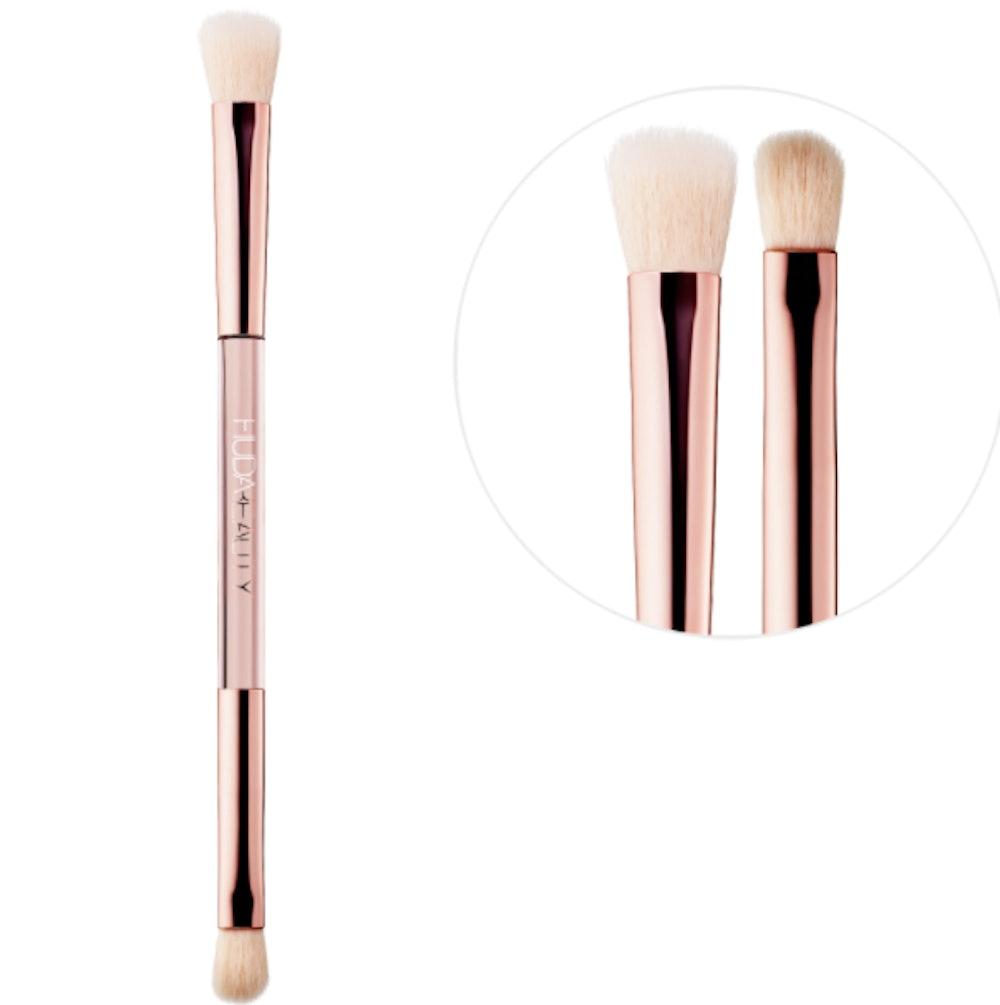 Huda Beauty Build & Blend Dual-Ended Eyeshadow Blending Brush