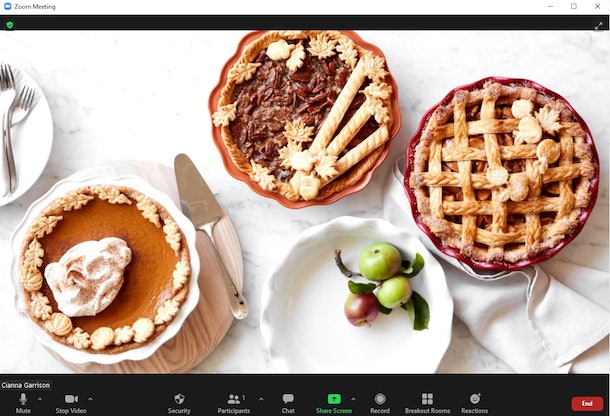 These are the best Friendsgiving Zoom backgrounds to set the tone for your virtual celebration.
