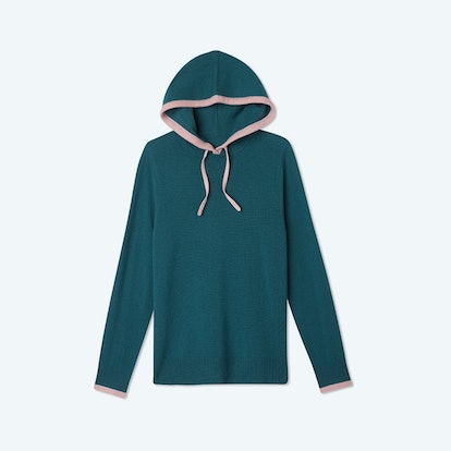 The Coziest Cashmere Blend Hoodie