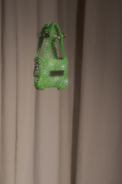 2E.4 Chartreuse Green Bag