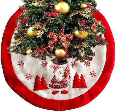Bribass Christmas Tree Skirt