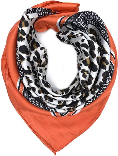 YOUR SMILE Large Square Satin Headscarf