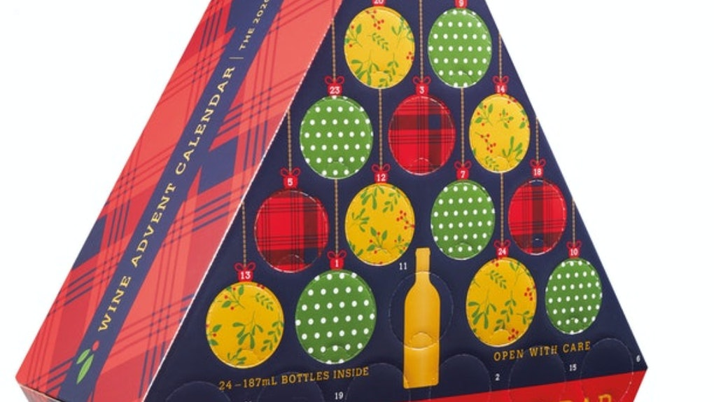 These wine Advent calendars will have you celebrating with a different variety every day.