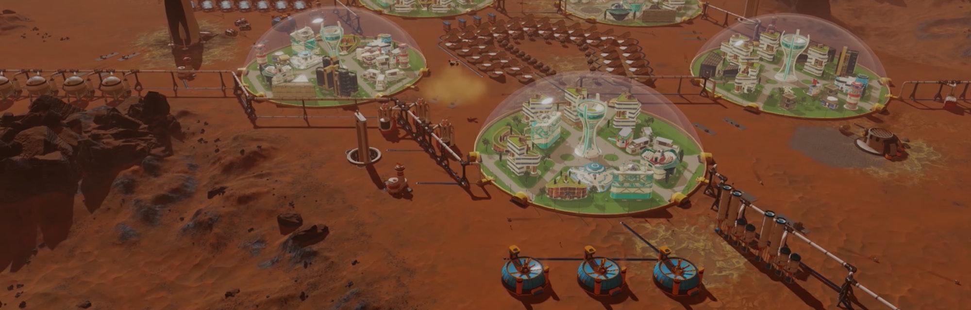 Surviving Mars Paradox game screenshot