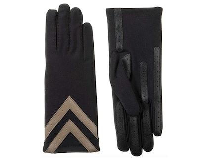 isotoner Spandex Chevron Gloves