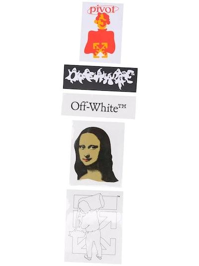 Off-White Mona Lisa Sticker Set